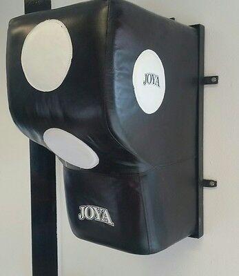 JOYA Wall Boxing Bag. Leder. Wandkissen. Boxen, Kickboxen. Schlagkraft. Technik.
