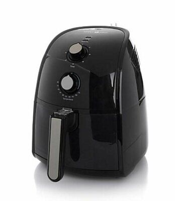 Simply Ming The Healthy Fry Ceramic Nonstick 1500-Watt Air Fryer ~ Black NEW for sale  Parrish