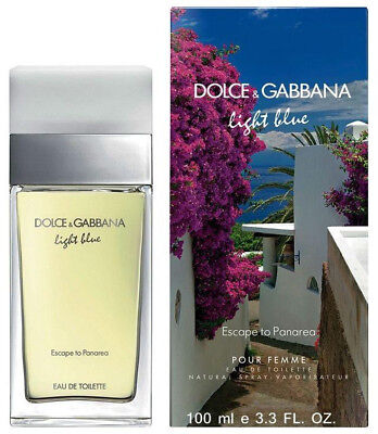 Usado, Dolce & Gabbana Light Blue Escape to Panarea Perfume 3.3 / 3.4 oz edt NEW IN BOX comprar usado  Enviando para Brazil