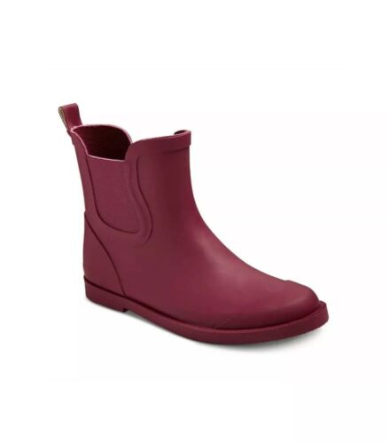 cat and jack girls ankle rain boots