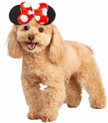 Rubies Disney Minnie Mouse Headpiece Dogs Pet Halloween Costume Accessory 200168](Minnie Mouse Pet Costume)