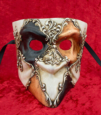Mask from Venice Bauta in Paper Mache for Homme-Haut of the Range 2157 -CB3