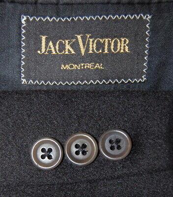 Mens 42 R Jack Victor Canada 100 % Pure Cashmere Classic Black Blazer