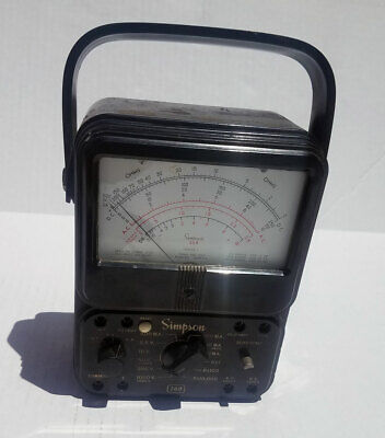 Simpson 260 Series 3 Vom Multimeter - For Parts