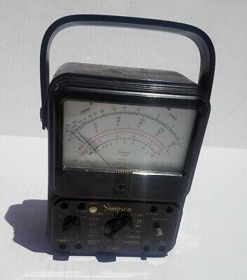 Simpson 260 Series 3 Vom Multimeter - For Parts