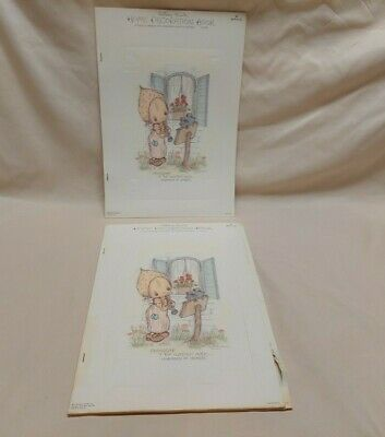Vintage Hallmark Betsey Clark 2 Home Decoration Books 1 Complete 4 Hang  Designs