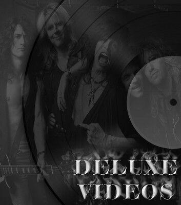 Aerosmith Music Videos Classic Rock  2 Dvds  36 Music Videos
