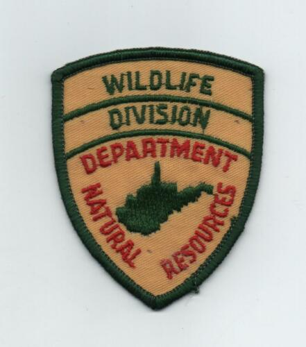 West Virginia Dept., Nat. Resources, Wildlife Division Hat Patch, Shield