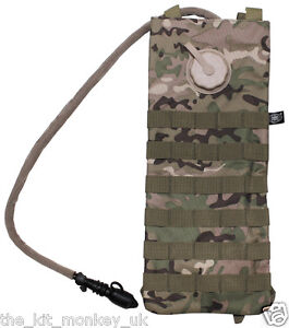 MFH Aqua / water bladder / hydration system MOLLE 2.5 Litre like MTP / Multicam