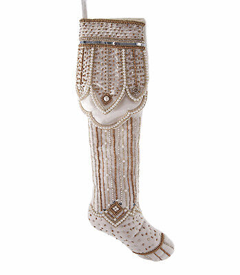 Katherine's Collection 24 inch White Gold Stocking 14-614027