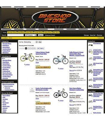 Turnkey Amazon Bike Affiliate Store Website Script Free Hosting For 1 Month