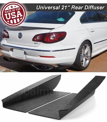 21 Gen 3 Rear Bumper Lip Downforce Apron Splitter Diffuser Canard For Nissan