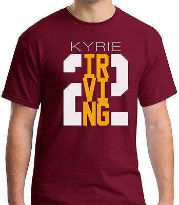Kyrie Irving  2 Shirt   Cleveland Cavaliers Cavs Tee New Nba Basketball Lebron