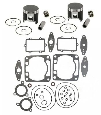 2005 Arctic Cat Sabercat 700 EFI LX SPI Pistons Bearings Top End Gasket Kit Std for sale  Shipping to Canada