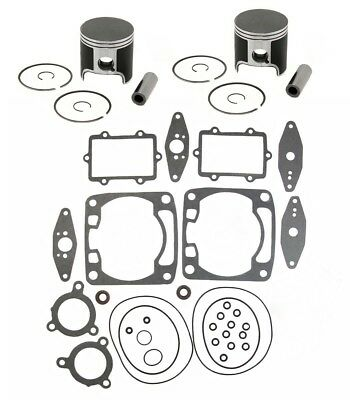 2004 Arctic Cat Sabercat 700 SPI Pistons Top End Gasket Kit Stock Bore 79.70mm for sale  Shipping to Canada