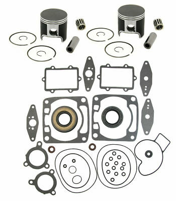Arctic Cat Sabercat 700 Pistons Bearings Full Gasket Kit Crank Seals 2004-2006 for sale  Shipping to Canada