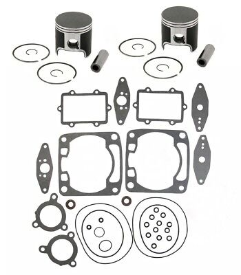 2005 Arctic Cat Sabercat 700 SPI Pistons Top End Gasket Kit Stock Bore 79.70mm, used for sale  Shipping to Canada