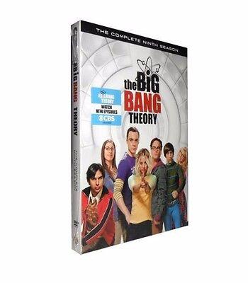 The Big Bang Theory The Complete Ninth Season 9 (DVD, 2016, 3-Disc Set)