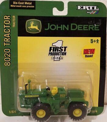 1/64 Ertl John Deere 8020 Tractor