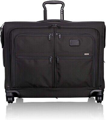 NEW Tumi 22635D2 Alpha 2 BLACK 4 Wheel Medium Trip Garment Bag Luggage Spinner
