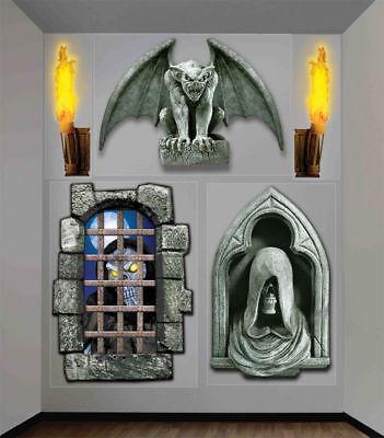 Morris Costumes Creepy Wall & Furniture Covers Decorations & Props 4' X 5.3'.