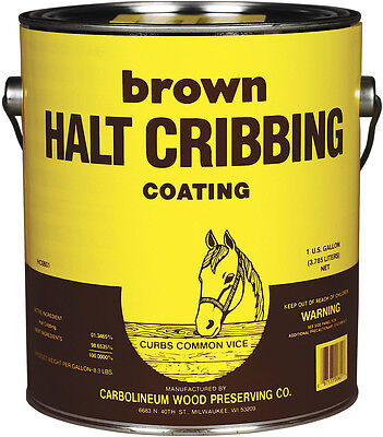 Gallon Brown Halt Cribbing