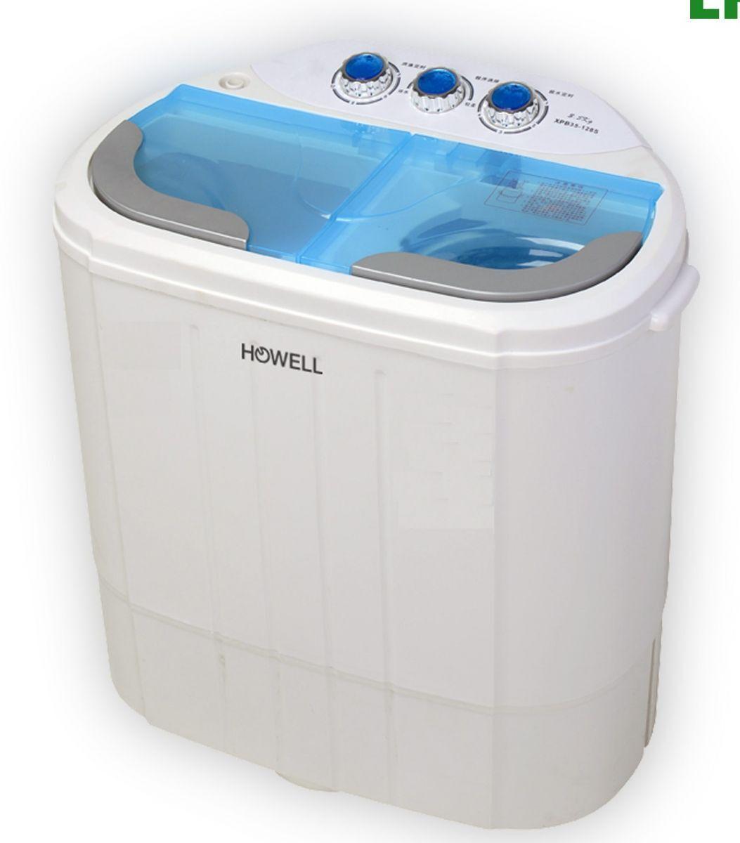 Mini lavatrice 3,5 kg con centrifuga camper barca Howell lp 436 - Rotex