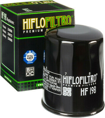HiFloFiltro Replacement Motorcycle Oil Filter HF198