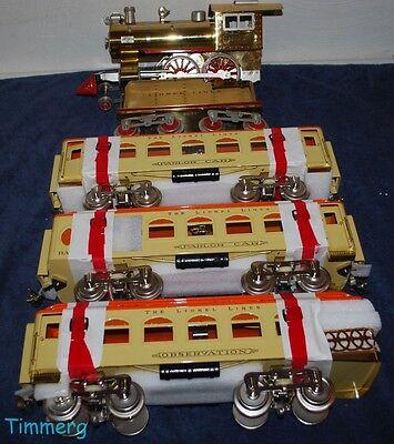Lionel Classics 6-13104 Standard Old No. 7 Steam & 6-13412 Passenger Cars MIB**
