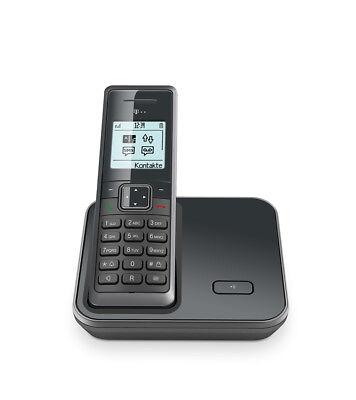 Sinus 206 Graphit ECO-DECT Schnurlostelefon Punkt-Matrix-Display Grau NEU OVP