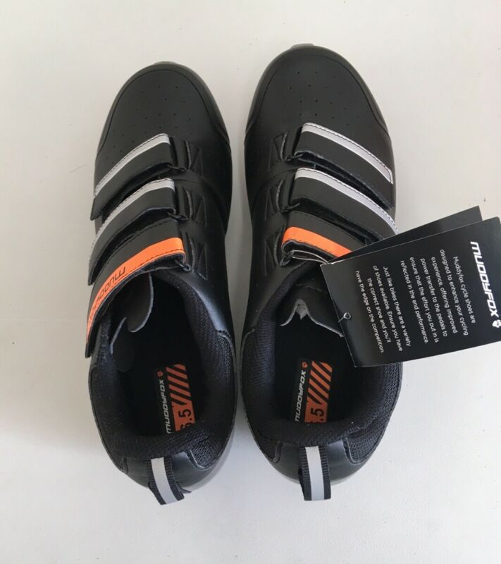 Muddyfox MTB100 Junior Cycling Shoes Size UK6.5 EU 40 {Z26}