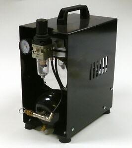Compressore-silenzioso-Werther-TC108-Special-NERO-aerografo