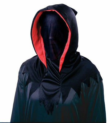The Invisible Man Halloween Costume (Morris Costumes Men's Horror Over The Head Shrouded Invisible Mask.)