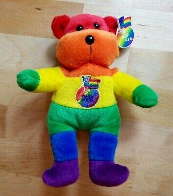 Gay Pride Bear 2000 USA Pride Design -