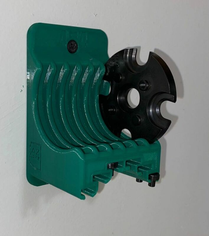 Shell Plate Holder for RCBS 4X4 Progressive Holds 6 shellplates and pins
