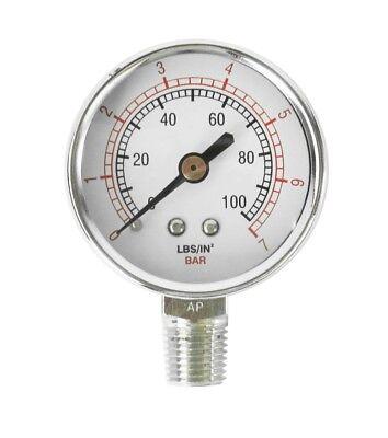 Binks 83-2727 Air Pressure Gauge 100# (2-3/16in. Diameter)