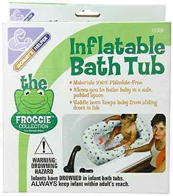 Frogs Inflatable Baby Bathtub Helper Safety Seat Toddler Bathroom Bath Tub .
