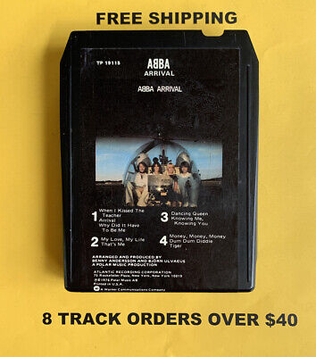 ABBA Arrival 8 track tape tested