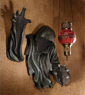Ancient Hooded Druid Creepy Wall Sculpture ~ Mr Creeper Haunting Halloween (Ancient Druids Halloween)