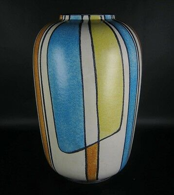 Bay Keramik Vase Bodo Mans Design 50er 60er Jahre Vintage German Pottery BIG