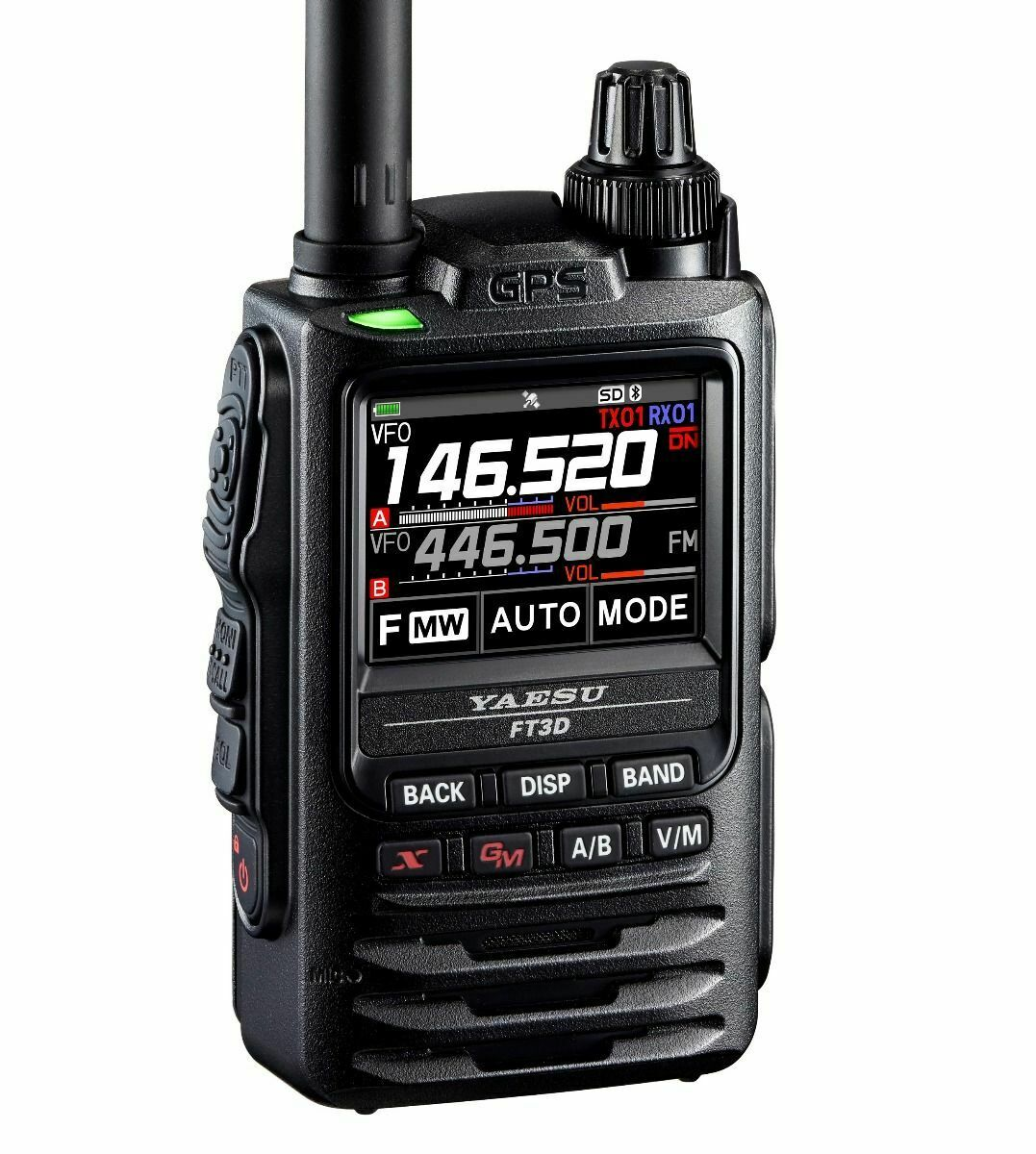 Yaesu Original FT-2DR 144//430 Dual Band Digital//Analog C4FM//FM Handheld Amateur Transceiver