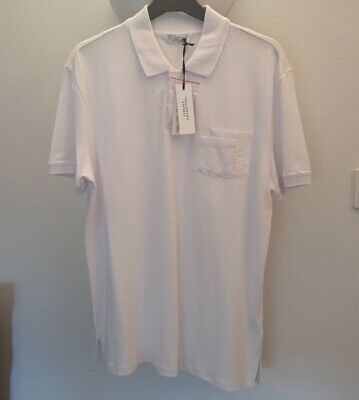 Men's Versace Medusa Head Collection White Polo Size XL