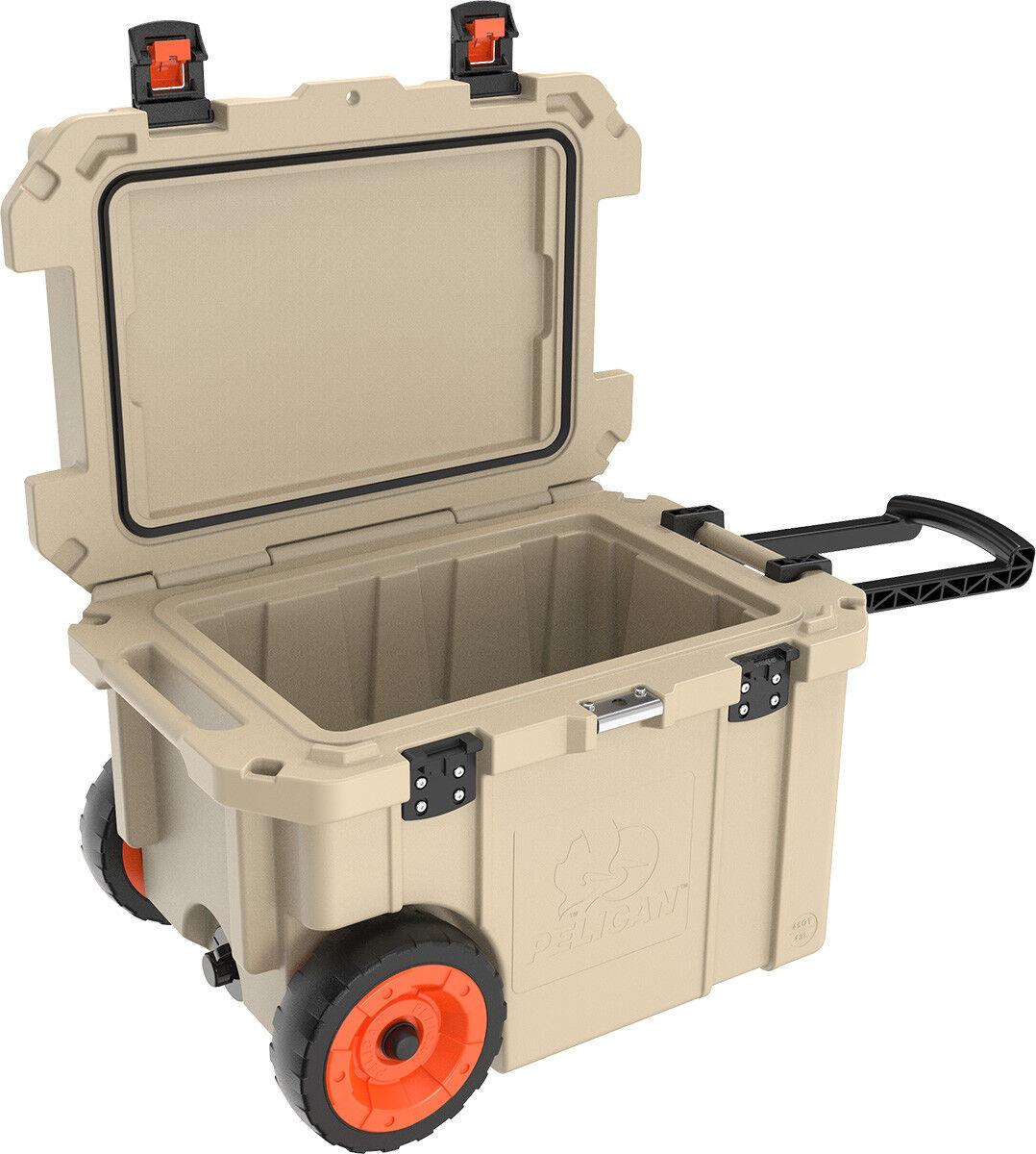 Pelican 45 Quart QT Progear Wheeled Elite Cooler ATV UTV Des
