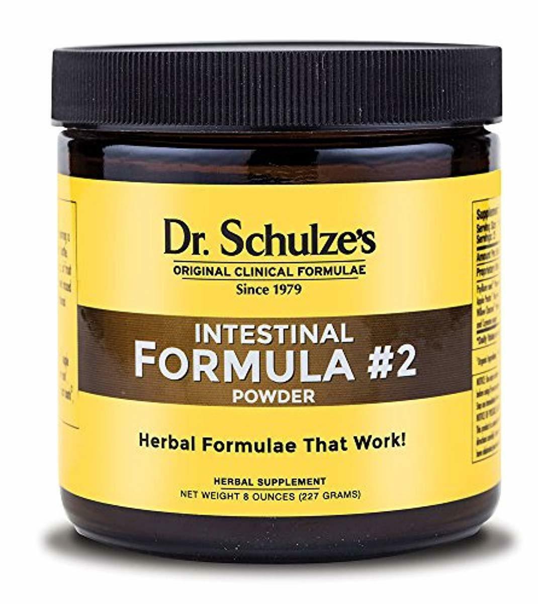 Dr. Schulze's | Intestinal Formula #2 | Herbal Colon Clean