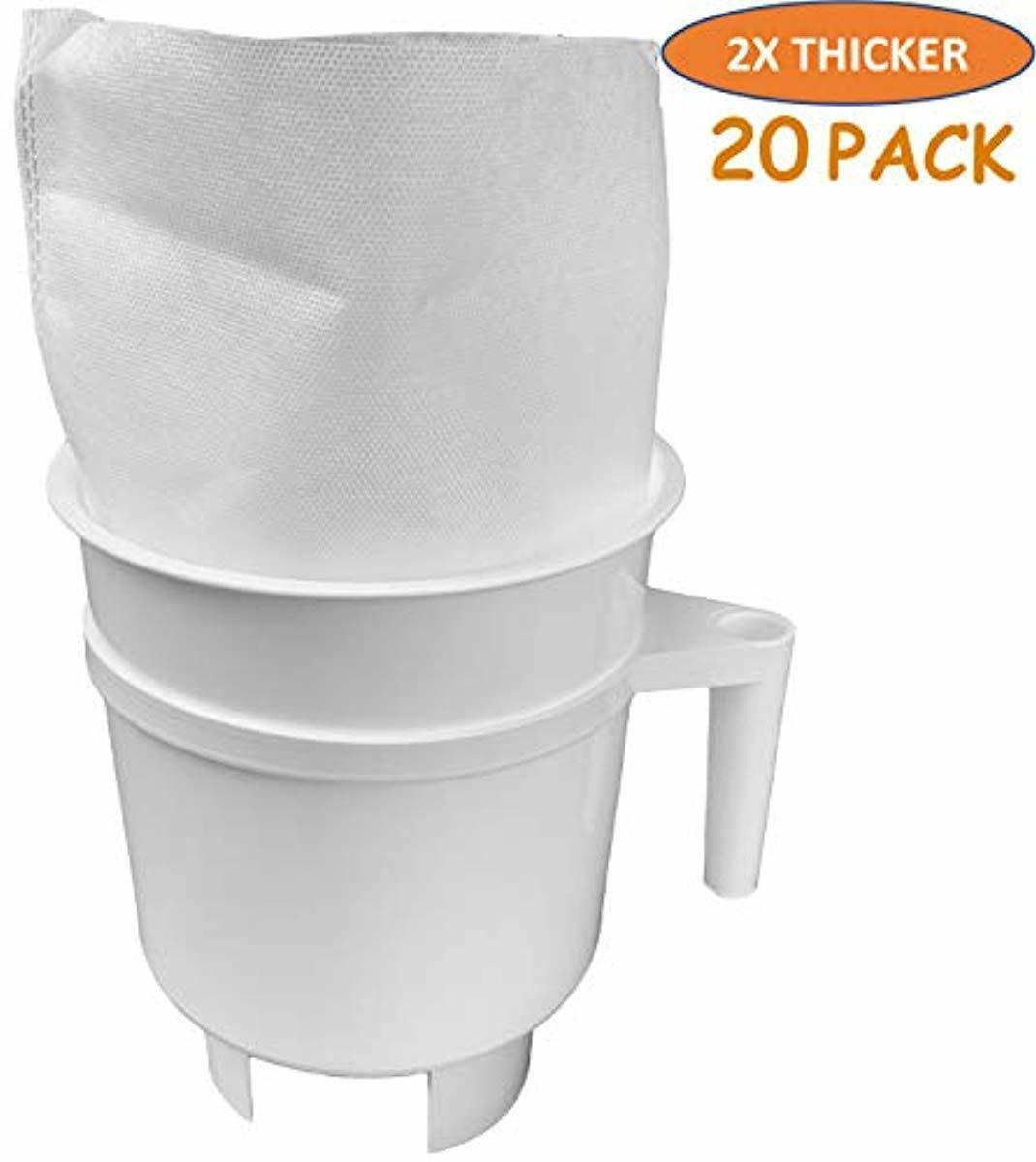 20 PACK Cold Brew Coffee Filter Bags For Toddy Cold Brew Sys