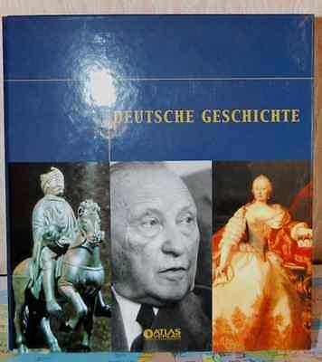 Atlas Verlag - Edition Deutsche Geschichte - 6 Ordner -ungeöffnete Kollektionen  gebraucht kaufen  Chüden