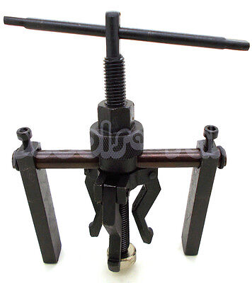 3 Jaw Pilot Bearing Puller Auto Motorcycle Bushing Remover Extractor -