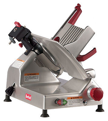 Berkel 827E Plus 12  1 3 Hp Manual Gravity Feed Entry Series Slicer