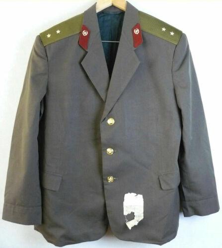Daily Jacket Tunic Original Soviet USSR Russian Officer Uniform Military L Size
