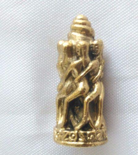 Statue 7 Nari round Paladkik  Fully Love Luck Charm Trade Wealthy Thai Amulet